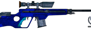 HC-114 Sniper Rifle by CzechBiohazard