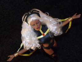 OOAK X-Men Storm Doll by ShannonCraven
