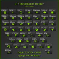 BTX modified TurboX neon green by Turbox85