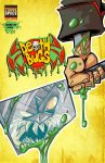 Death Bugs Issue 1 Cover and RELEASE DATE by DustinEvans