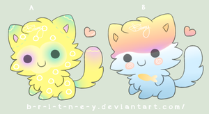 (OPEN) CHEAP 10 POINTS Kitty Adoptable by b-r-i-t-n-e-y