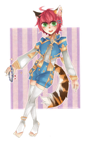GAIA COMMISSION 1: Pippin by Sychandelic