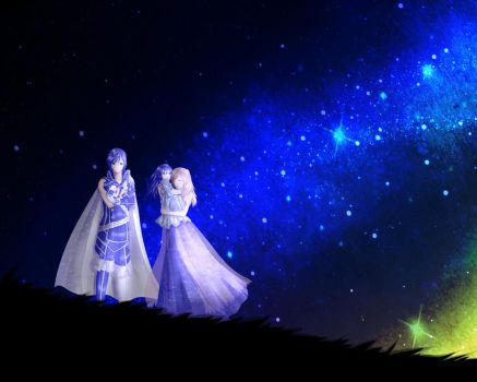 See the stars.. See the wonders of this world by OwlLisa