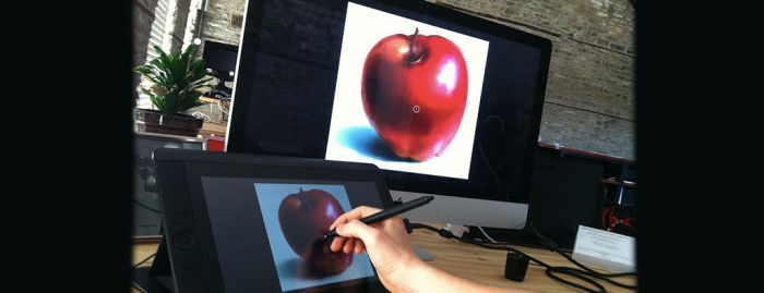 13HD Cintiq Unpacking and First Impressions by CGCookie