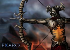 Exaro Undead Archer by AaronQuinn