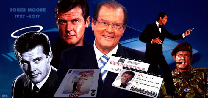 ROGER MOORE +++1927 - 2017 +++ by scifilicious
