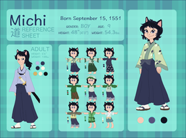 MICHI Character Reference and Biography by NattiKay