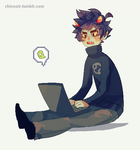 karkat by chienoir
