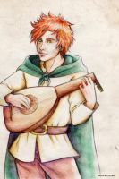 Kvothe laud __ by MartAiConan