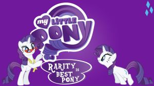 Wallpaper Rarity is the best pony by Barrfind