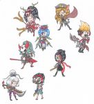 READ DESCRIPTION Gifts Starting NOW! Chibi Champs! by Junelle-O