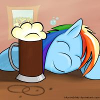 Go home Rainbow Dash, you're drunk! by ThorinsBlade