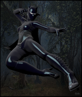 Black Panther 2099 by TonyDumont