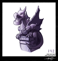 Aerodactyl!  Pokemon One a Day! by BonnyJohn