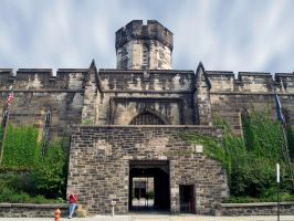 Eastern State Penitentiary 81 by Dracoart-Stock