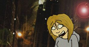 Me in Cloverfield :D by pupcat12