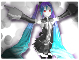 MMD: Infinite Holic Miku by TeamVocaloid