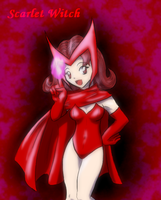 Scarlet Witch Collab by FuzzGod5