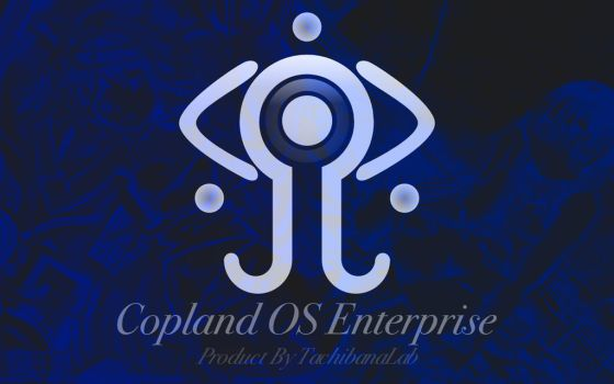 Serial Experiments Lain - Copland OS Enterprise by Eldritch-Prodigy