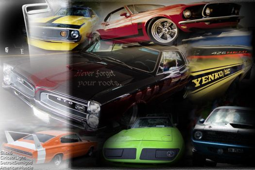 Muscle car wallpaper by DetroitDemigod