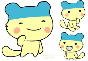 Ijji the Ura Young Mametchi by MintyDreams7