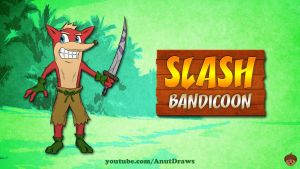 Slash Bandicoon by AnutDraws