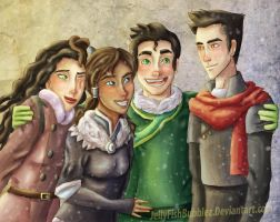 Winter with New Team Avatar by Jellyfishbubblez