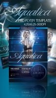 Aquatica PSD Flyer Template by ImperialFlyers
