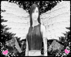 Tifa: clouds angel by finaldreams7