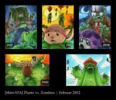 Plants vs Zombies - ATC by Merinid-DE