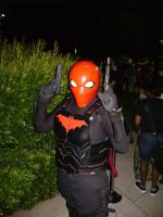 Red Hood cosplay by Robot001