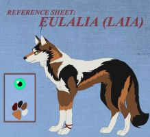 Reference sheet - EULALIA by Noahu