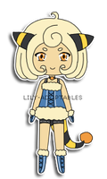 Adoptable 14 giveaway Mareep CLOSED by lily-adoptables