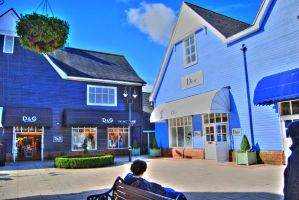shopping in bicester village by amna-alq