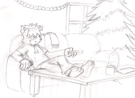 Xmas 2011 Sketch by fire-ice-n-lightning