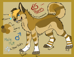 Single Canine Adopt #1 .:SOLD:. by opaleyedwolf