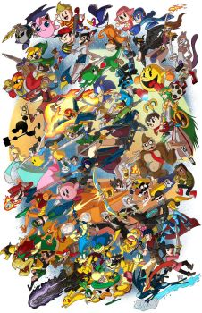 Smash 4! by IAMARG