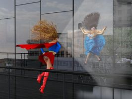 Never piss Supergirl off! by wgsoup