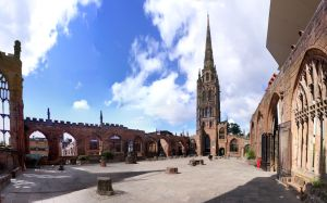 Coventry Cathedral Old by s-kmp