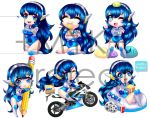 +Six Pack Chibis Sora Anime Store+ by MYKProject