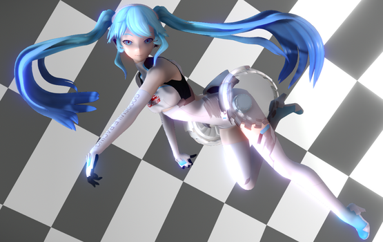 [MMD] {MME} Ray Cast Shader Test by LenKagamine363