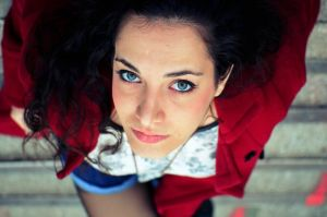 Blue eyed girl by pennyclicks
