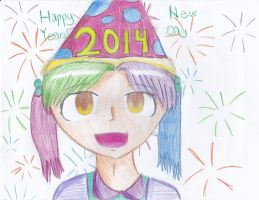 Happy 2014 by timelordponygirl