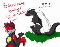 Barricade Honey Badger by Albo-Beati7