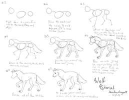 crappy wolf tutorial by VexiWolf