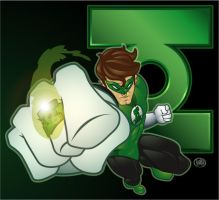 Green Lantern by lordmesa