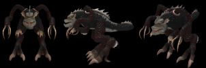 Spore Creation: Tunid by Existent-effigy