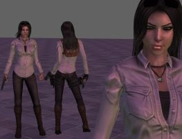 Tomb Raider 10 Lara Croft  ~FanMod~ Long Hair by ItalianUtent