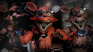 Fixed Withered Foxy by YinyangGio1987