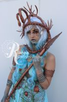 Under water Warrior by CupCakeMonsterCrafts